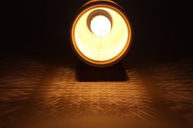 světlo s LED žárovkou